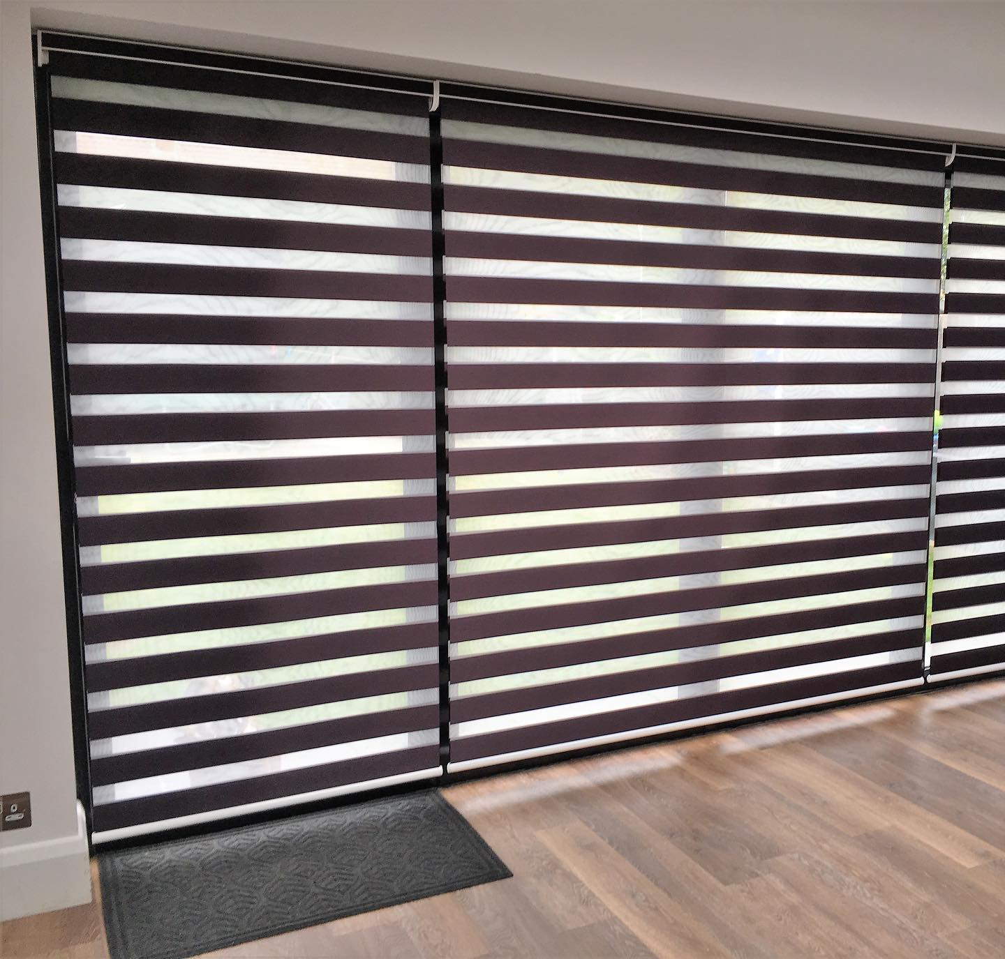 Electric Blinds - Purple - Living Room