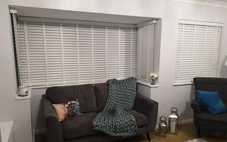 Venetian Blinds - White - Living Room