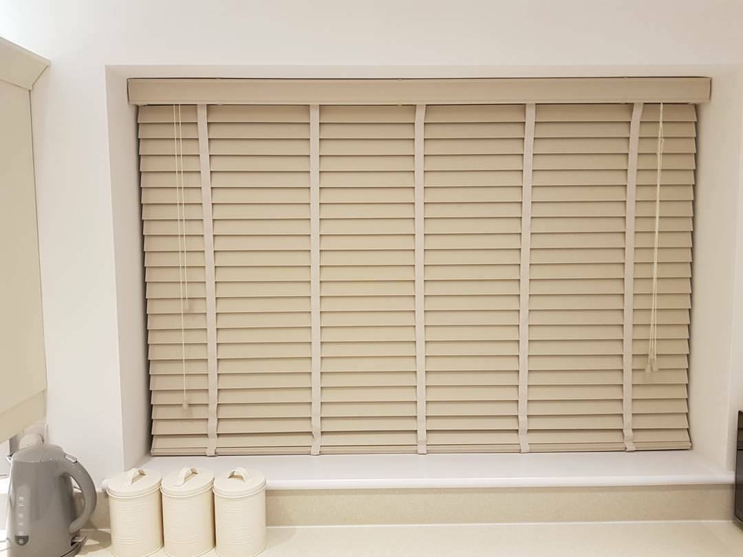 Wooden Blinds - Cream - Kitchen